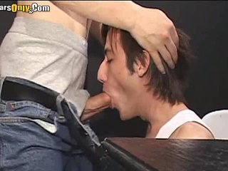 Long Haired Man Sucking On Long DickK-03 bearsonly 3 part1