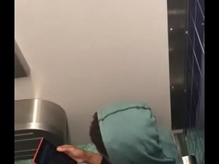 Greyhound Station in Memphis - man jerking in toilet https://nakedguyz.blogspot.com