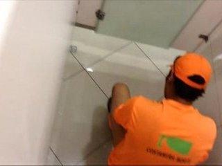 Camera In Bathroom Spy Straight Guy