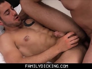 Jock Step Son Fucked After Secretly Recording Step Dad Masturbating To His Picture