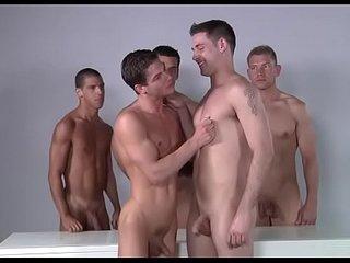 Bedroom homo anal fuckfest