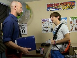 Hung Teacher Abuses His Power