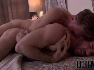 Office twinks banging it out in the recreational room