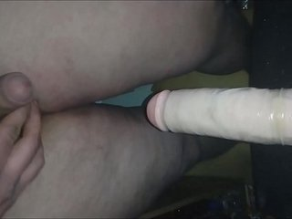 huge dildo in my young fat ass