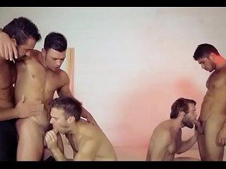 Rough anal orgy on web camera