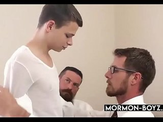 Young Church Boy Pounds Old Hairy Asshole - MORMON-BOYZ.COM