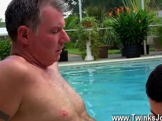 Gay cock Brett Anderson is one lucky daddy, he's met up with kinky