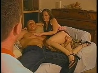 Couples invites extra man to enjoy him www.beeg18.com