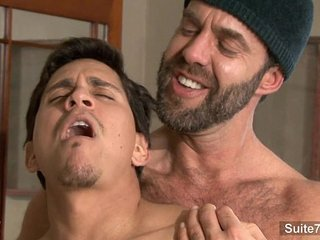 Gays screwing and cumming