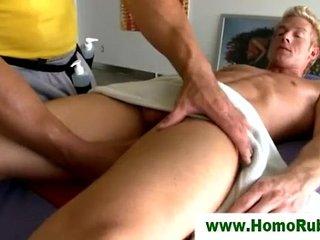 Gay straight massage seduction