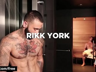 Bromo - Jaxton Wheeler with Rikk York at The Steam Room Part 1 Scene 1 - Trailer preview